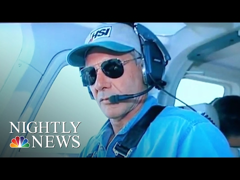 Harrison Ford Involved In Incident With Passenger Plane At Calif. Airport   NBC Nightly News