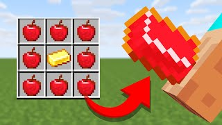 10 Minecraft Recipes only NOOBS would use