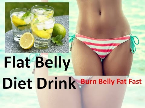 Flat Belly Diet Drink – How to Loose Belly Fat with Detox Water Without Exercise (Most Recommended)