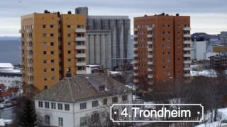 Top 10 Cities of Norway 2017,Travel Norway  10 Best Places to Visit in Norway Rank Urban area Population County 1 Oslo...