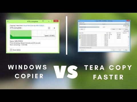 Windows Copier Vs  Tera Copy -  Which one Best?