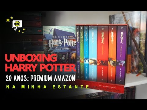 Unboxing Harry Potter 20 Anos: Box Premium Amazon | Na Minha Estante