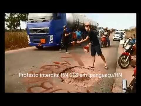Veja em VÍDEO: Protesto interditará RN 118 em Ipanguaçu/RN