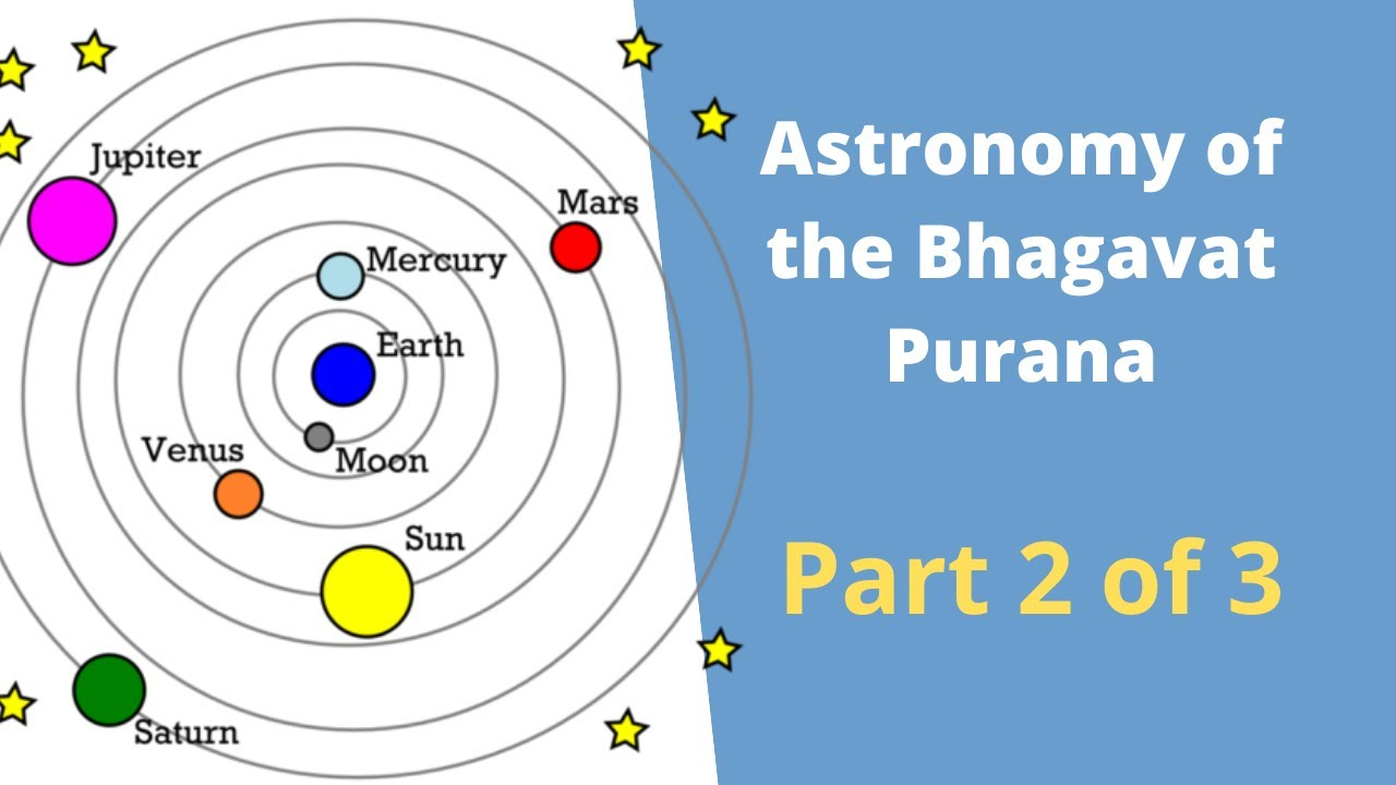 Astronomy of the Bhagavat Purana Part 2 of 3: Vedic / Hindu world view