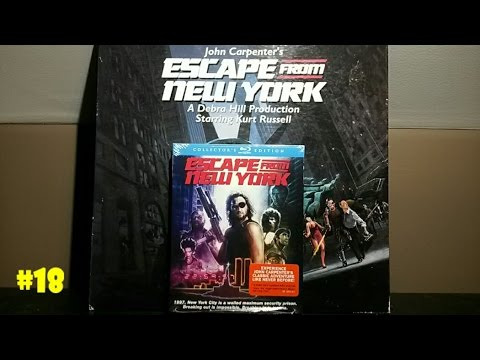 Escape From New York Collector's Edition Scream Factory Blu-ray Unboxing - #18