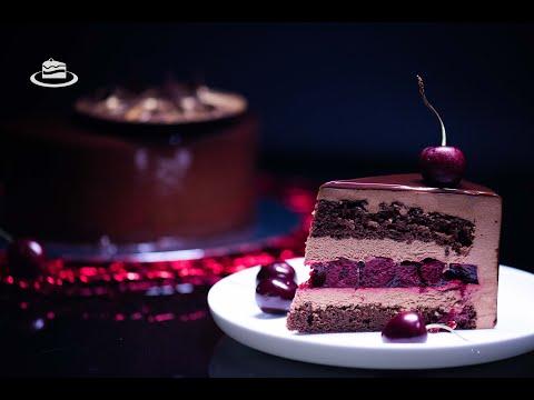 Tort de Mousse 'Padurea Neagra' / 'Black Forest' Entremet Cake (EN. SUB.)