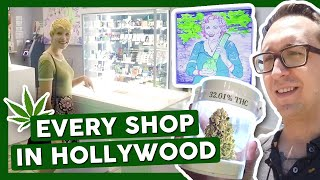 VISITING EVERY POT SHOP IN HOLLYWOOD! (Part 2/2) by That High Couple
