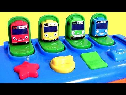Tayo the Little Bus Pop Up SURPRISE Pals Musical Toy Surprise Eggs 똑똑한 꼬마버스 타요 장난감 Disney тайо