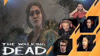 Gamers Reactions to (SPOILER!!!) Clementine Meeting Lilly | The Walking Dead: The Final Season