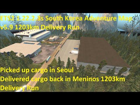 South Korea Adventure Map v6.0