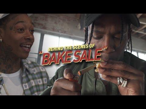 """Behind the Scenes of Wiz Khalifa & Travis Scott's """"BAKE SALE"""" Music Video"""