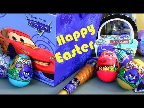 Angry Birds Toy Surprise Easter Eggs Disney Pixar CAS 2 Holiday Edition Target Toys unwrapping