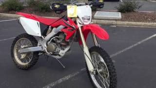 8. Contra Costa Powersports-Used 2008 Honda CRF250X E-start 4 stroke dirt motorcycle