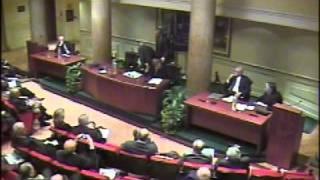 Convegno costi democrazia - On. Antonello Falomi