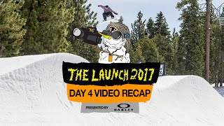 The final day video recap from The Launch 2017 presented by Oakley at Snow Summit. Featuring riding from Brock Crouch, Jamie Anderson, Hailey Langland, Miles Fallon, Drayden Gardner, Brandon Kirkland, Tyler Vallieres, Max Greely and many more. Filmed by Cole Taylor, John Cavan, and Justin Gunson. Edited by Cole Taylor. Full story on www.snowboarder.com!