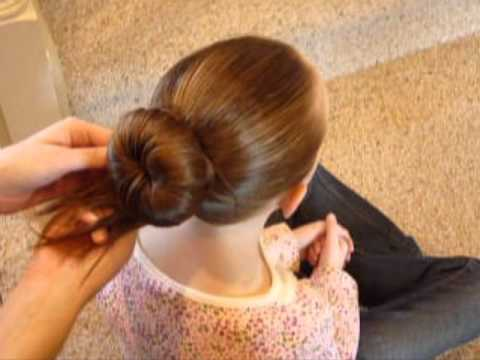 bun - For more hair ideas, visit our site: http://princesshairstyles.com How to make a ballet bun. I've seen these buns called sock buns, doughnut buns, and bun mo...