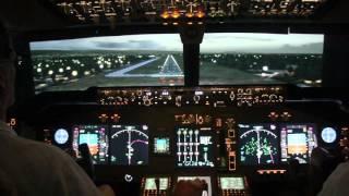 Landing Into Panama