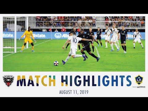Video: HIGHLIGHTS: D.C. United vs. LA Galaxy | Aug. 11, 2019