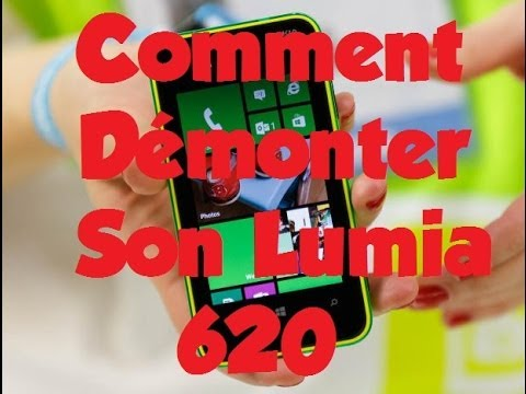 comment demonter lumia 925