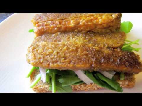 Cook Train Eat Race – Tempeh Bacon, Arugula, Tomato and Avocado Sandwich
