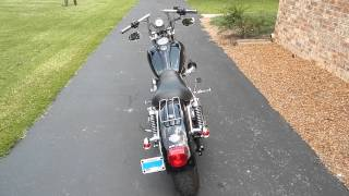 8. 2009 Harley-Davidson Dyna Superglide FXD Customized