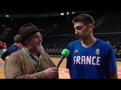 ANGT Kaunas: Interview with Sofiane Briki, U18 CFBB Paris
