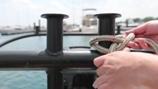 Conseils nautiques pratiques : Nœud de cabestan