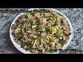 Chiili-Garlic Chicken Fried Rice | Anu's Tamil Kitchen