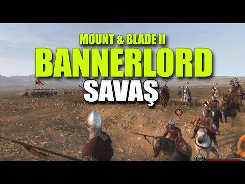 MOUNT AND BLADE 2: BANNERLORD - AT VE ORDU SAVAŞLARI (видео)