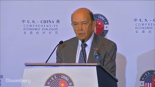 Jul.19 -- U.S. Commerce Secretary Wilbur Ross's opening remarks at the U.S.-China Comprehensive Economic Dialog spoke of ...