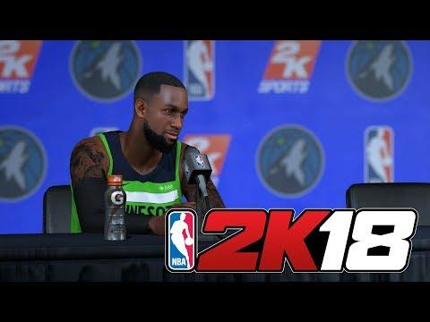 NBA 2K18 - Карьера игрока #5 [Первая игра в старте]