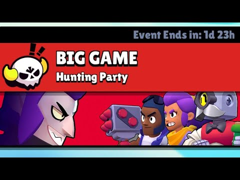 Big Game | Hunting Party | Being The Big Brawler | Shelly The Fighter | Brawl Stars