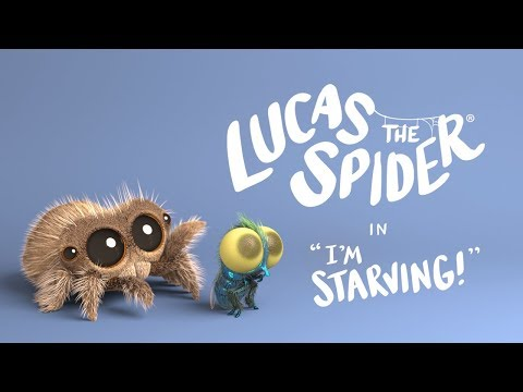 Lucas the Spider in I m Starving