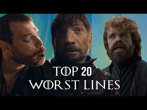 Top 20 Worst Lines in Game of Thrones
