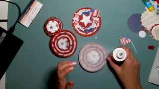 A quick and cute decoration using scraps and items from the Dollar Tree - Captured Live on Ustream at http://www.ustream.tv/channel/scrappycampersisters