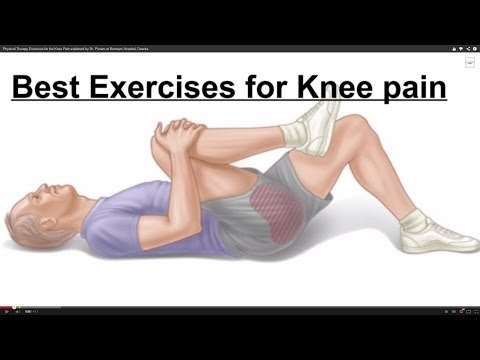 Physical Therapy Exercises for the Knee Pain explained by Dr. Punam at Bensups Hospital, Dwarka