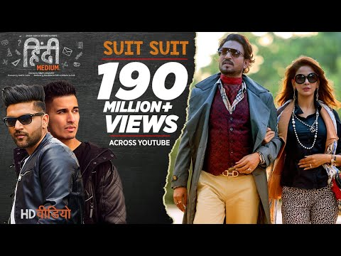 Suit Suit Video Song | Hindi Medium | Irrfan Khan & Saba Qamar | Guru Randhawa | Arjun