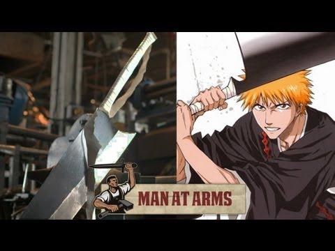 Fabricando la Espada de  Ichigo Zangetsu (Bleach)