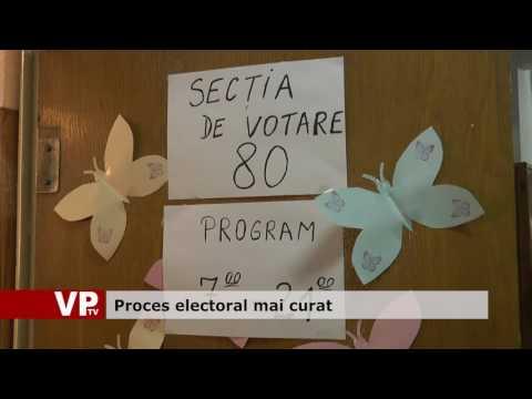 Proces electoral mai curat