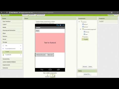 App Inventor Flashcard Tutorial