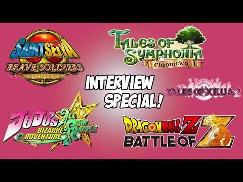 YOGSKIM INTERVIEW! Namco Bandai Interview Special! (видео)