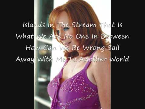 Reba And Barry- Islands In The Stream (w/lyrics)