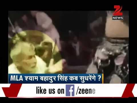 JD(U) MLA Shyam Bahadur Singh's dance creates controversy