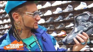 Riff Raff Goes On Epic Shopping Spree at Flight Club