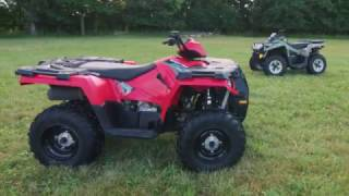 7. 2017  Polaris Sportsman 570 vs. Can-Am Outlander L 570