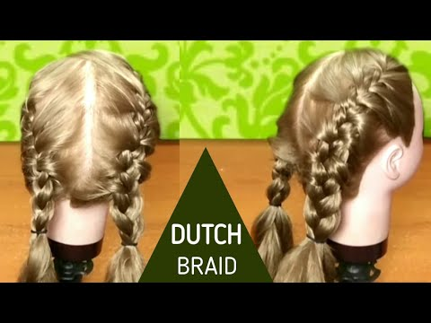 Double french braid hairstyles for girl  Indian braids hairsyles  hair style girl