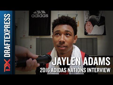Jaylen Adams Interview from 2016 Adidas Nations