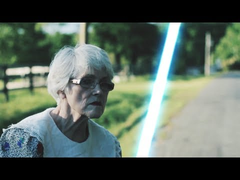 jedi - Click to tweet! http://bit.ly/IyjIqW Two teenagers annoy the wrong old lady.