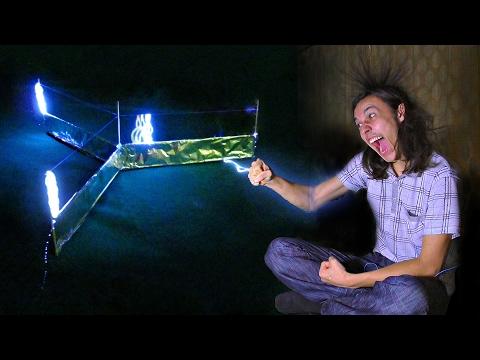 Собрал летающий ионный двигатель у себя дома!