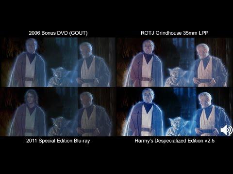 ORIGINAL Funeral Pyre/Celebration | Return of the Jedi (1983) [DeEd, Blu-ray, GOUT, LPP]